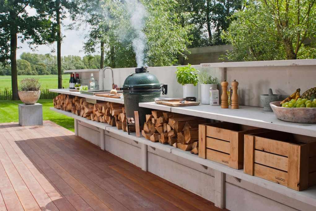 Outdoor Bbq Area Design Trends Toldos Chique